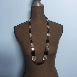 Express Chunky Beaded Statement Necklace